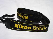 NIKON D300s CAMERA NECK STRAP   Used  #01143