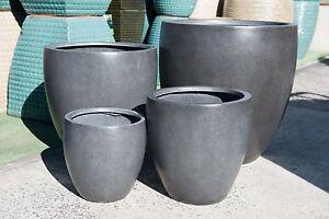 Outdoor-Garden-Patio-Planter-Pot-Modstone-Round-Egg-Montague-Dark-Grey