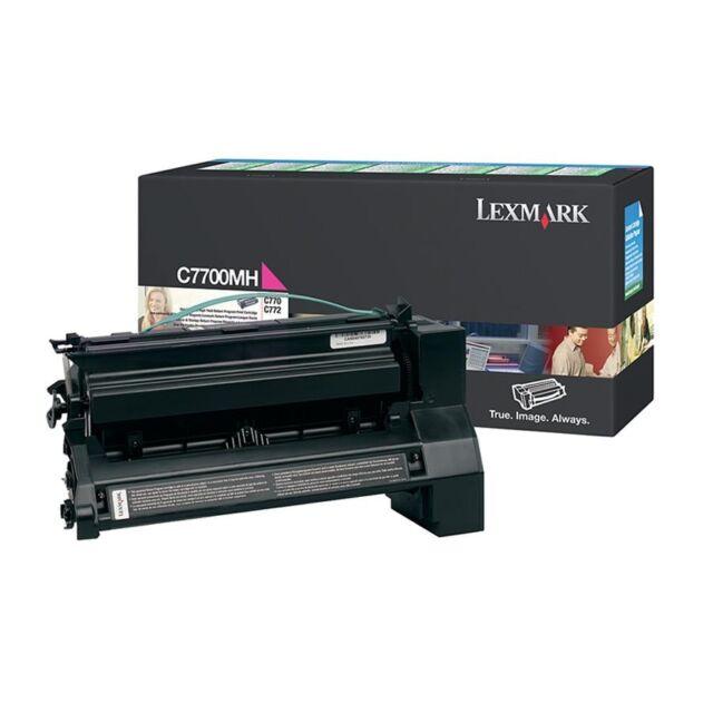 Original Lexmark Toner C7700MH Magenta 770 772 Dtn Dn N A-Ware