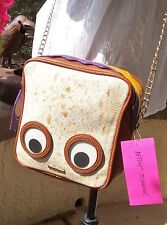 Betsey Johnson Thats My Jam Peanut Butter & Jelly Retired Crossbody Purse NWT *