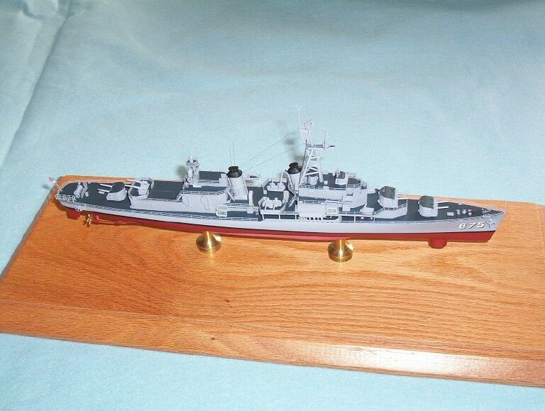 1/350 isw 4134-USS laffery DD724 - 2018 Completa De Resina & kit modelo de latón PE