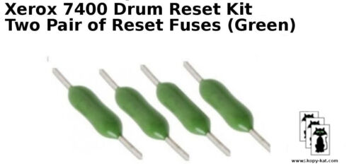 Drum imaging 4 reset chips fuses for  Xerox 7400