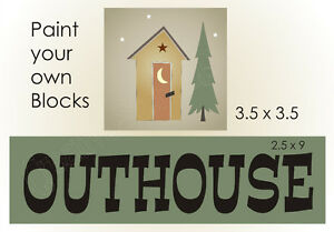 Primitive Outhouse Stencil Woodland Tree Moon Lodge Bathroom Country on outhouse prints, outhouse posters, outhouse ornaments, outhouse signs, outhouse theme decor, outhouse kits, outhouse decorations, outhouse fabric, outhouse silhouette, outhouse foam, outhouse stamps,