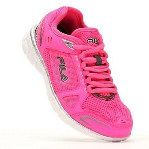 005a3fd04d4a NIB NEW FILA Roam Girls HOT PINK Running Athletic Shoes CoolMax ...