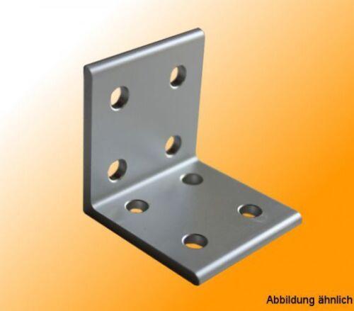 ALLUMINIO ANGOLARE 40x40 anodizzati per la connessione ortogonali di aluprofilen