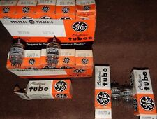 13 PIECES NOS NIB VINTAGE 1960'S 2C51 / 5670 / 396A TUBES GENERAL ELECTRIC 6386