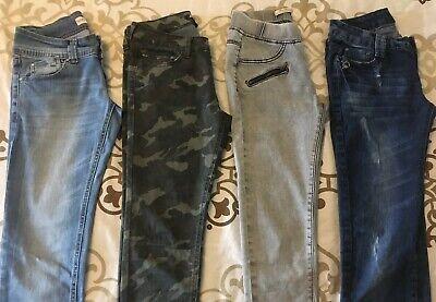 Ospitale Lot 4 Pantalons : Jeans Slim, Regular, Skinny Fille / Femme T 36 Tbe à Voir !!