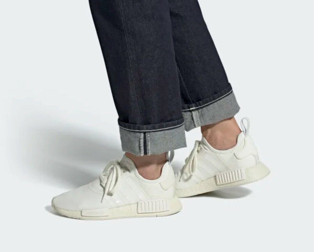 Size 9 - adidas NMD R1 Off White Sand
