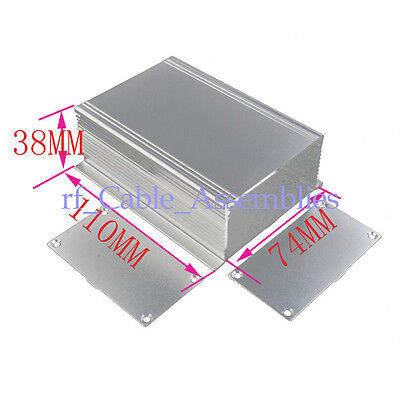 "2X Aluminum Enclosure Box Case -4.33""*2.91""*1.49"" Case Project electronic DIY"