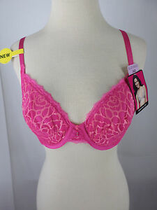 94b1955839658 Bra Women s LILY OF FRANCE Lace Hearthrob Pink Convertible ...