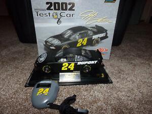 1-24-JEFF-GORDON-24-DUPONT-TEST-CAR-2002-REVELL-NASCAR-DIECAST