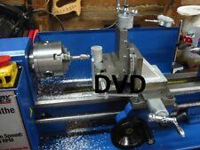 Metal trabajando paso a paso fundamentos cómo operar un DVD Torno de metal 7 X 10, hazlo tú mismo