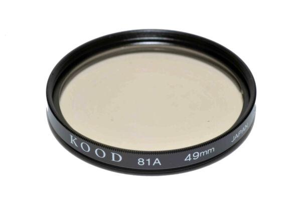 100% De Qualité Kood 81a Filtre Fait Au Japon 49mm Valeur Formidable