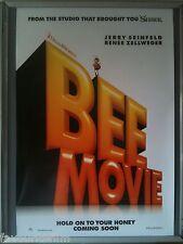 Cinema Poster: BEE MOVIE 2007 (2nd Adv One Sheet) Jerry Seinfeld Renée Zellweger