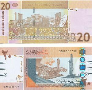 Sudan-20-pounds-2017-UNC-Pick-74