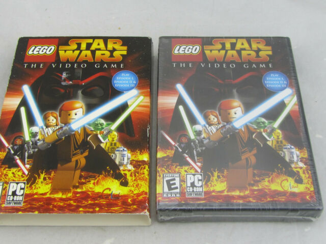 NEW - LEGO Star Wars: The Video Game (PC, 2005) Small Box Sealed