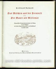 Märchen aus der Feenwelt - illustriert von Oskar Laske - numeriert und signiert!