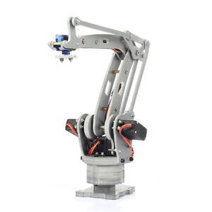 DIY 4-Axis Robot Arm 180 Max.Torque Servo Control for Arduino MEGA2560