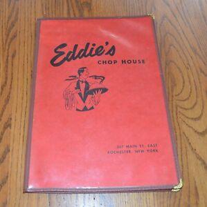 Vintage-Eddie-039-s-Chop-House-Restaurant-Menu-Rochester-New-York