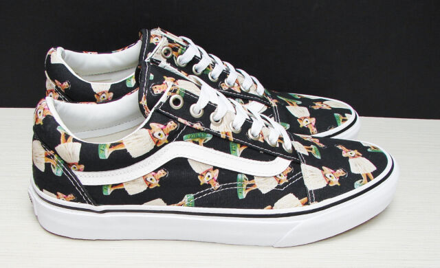 Vans Old Skool Digi Hula Black True White VN 0003Z6ID7 Men's Size: 7