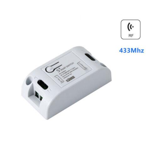 230V Funkschalter System 433Mhz RF Empfänger Modul+Touch Wand Lichtschalter Set