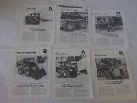 6 Holland Attachment Brochures Lx465 Lx485 Lx565 Lx665 Lx865 Lx885 Lx985