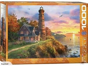 Eurographics Puzzle 1000 Piece Jigsaw The Old Lighthouse EG60000965