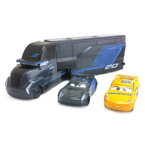 Disney-Pixar-Cars-3-Jackson-Storm-amp-Hauler-amp-Dinoco-Cruz-Ramirez-1-55-Toy-Car