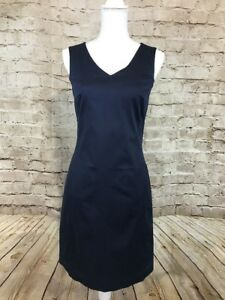 Image Is Loading New The Limited Navy Blue Dress V Neck