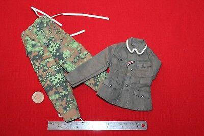 DRAGON MODELS 1//6TH SCALE WW2 GERMAN GREY WINTER COAT CB33418