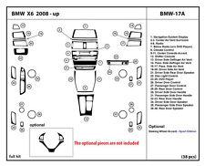 Real Carbon Fiber Dash Kit for BMW X6 2008-2014 Full kit BMW-17A