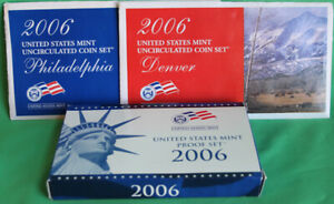 2006-Proof-and-Uncirculated-Annual-US-Mint-Coin-Sets-PDS-30-Coins