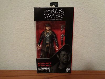 Canto Bight 6-Inch Action Figure #57 MIB Star Wars The Black Series DJ