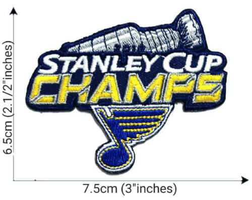 Hockey STANLEYCup St.Louis Blue Sport Patch Logo Embroidery Iron,Sew on Fabric
