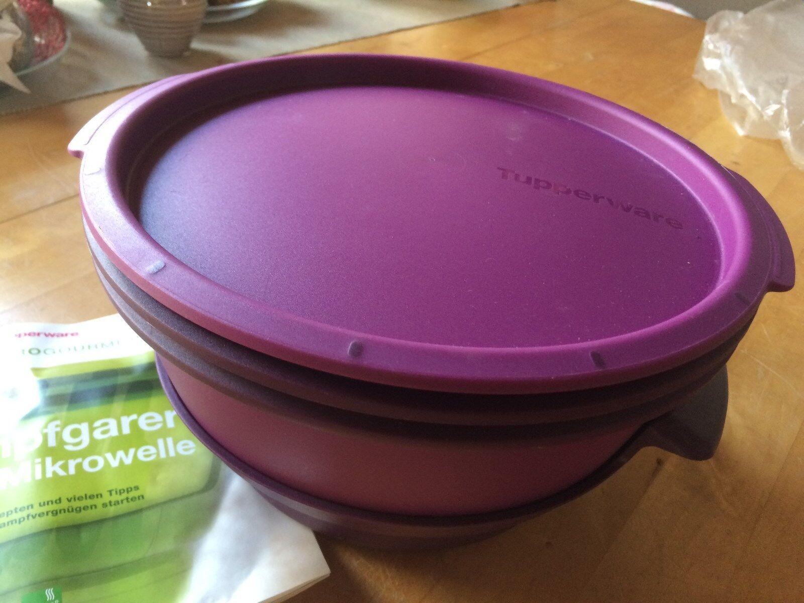 Tupper Tupperware   Micro Gourmet   lila   Neu | Fuxin