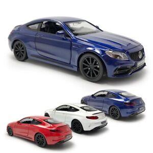 1-32-C63S-AMG-Metall-Die-Cast-Modellauto-Auto-Spielzeug-Model-Sammlung-Pull-Back