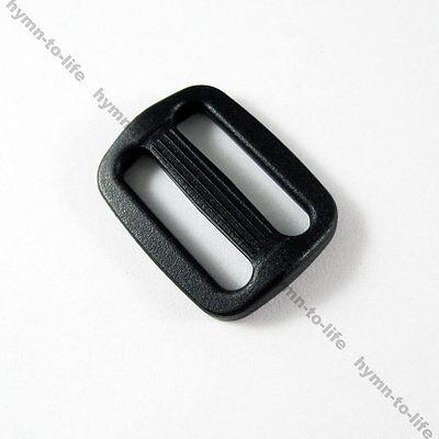 "50/100 pcs Tri-glides Backpack Strap-sliders 1/2"" 3/4"" 1"" 1-1/4"" 1-1/2"" 2"" M005"