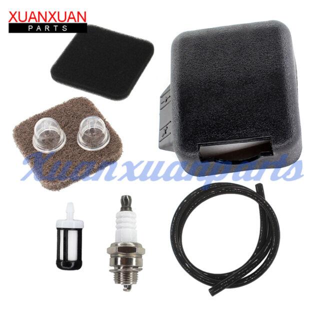 Air Filter Cover Fuel Line Filter Kit For Stihl BG75 FS85 FS80 FC85 41371410500