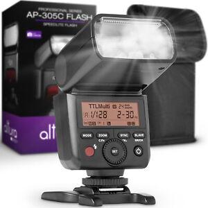 Flash-de-Camara-para-Canon-Speedlite-Foto-por-altura-para-DSLR-y-sin-Espejo