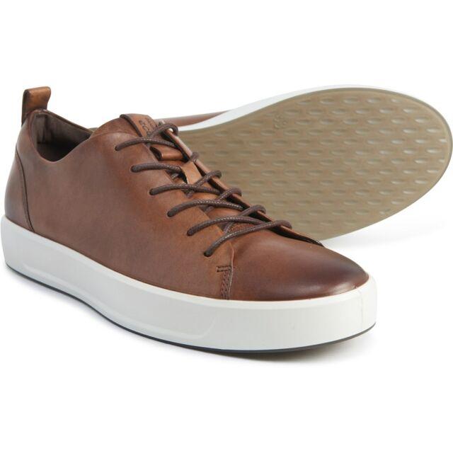 New Men`s ECCO Soft 8 Fashion Leather