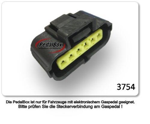 DTE système pedalbox 3 S Pour Kia Sportage jamais à partir de 2004 1.6 L GDI r4 99 kW Accélérateur.