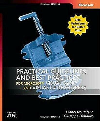Practical Leitlinien Und Best Praktiken Für Microsoft Visuelles Basic C#