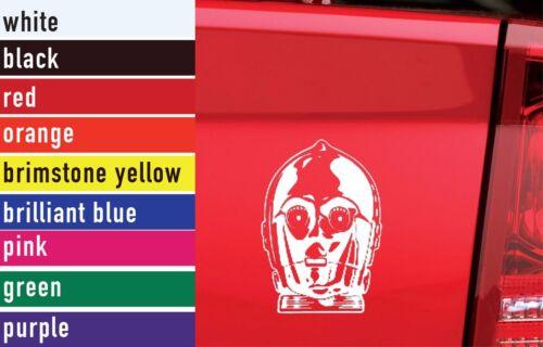 Star Wars C3PO Vinyl Sticker Decal Car-Truck Laptop-Netbook 2973