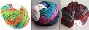 Katia-Bossa-Nova-Cotton-Blend-Ruffle-Yarn-Color-Choice-Loom-Knit-Crochet