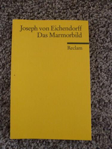 1 von 1 - Das Marmorbild - Joseph von Eichendorff ISBN 978-3-15-018539-1