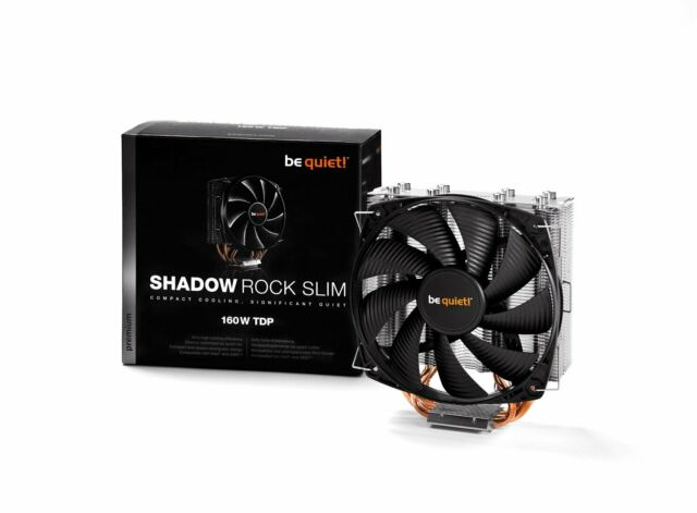 CPU Cooler Low Profile Shadow Rock LP 130W TDP be quiet BK002
