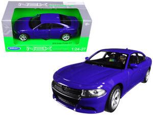 1-24-Welly-2016-Dodge-Charger-R-T-Purple-Blue-Diecast-Model-Purple-Blue-24079
