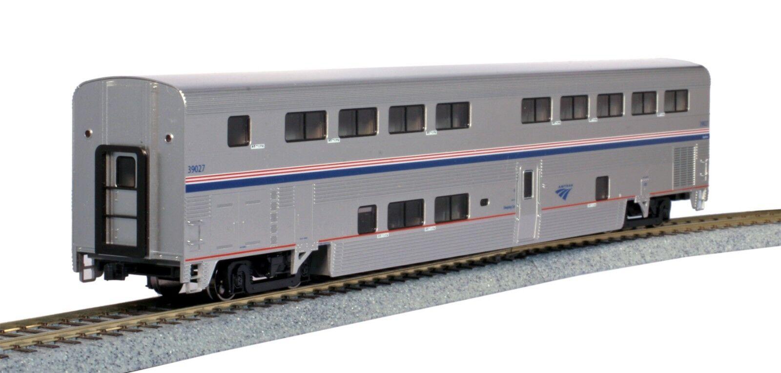 HO Scale KATO 356251 AMTRAK Superliner II Transition Sleeper Phase IVb   39027