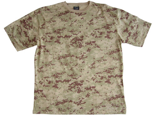 100/% Cotton Army Military Top New US Army Digital Desert Camouflage T-Shirt
