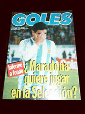 DIEGO MARADONA  want to play the Qualifiers FIFA WORLD CUP 1994 Goles magazine